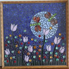 1st Picture Mosaic Mosaic, My Arts, Artwork, Flowers, Pictures, Painting, Work Of Art, Photos, Mosaics