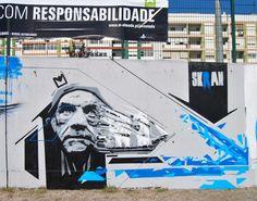 SKRAN Concurso de Graffiti de Almada 2013 on Behance