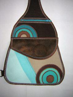 Brown Beige Gig Mini Backpack Women's Rucksack Cycling by mocsi61