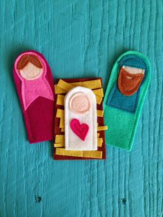 Little Bit Funky: twenty minute crafter {finger puppet nativity} (updated!)