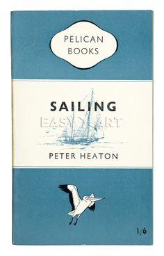 Sailing Art Print by Penguin Books at King & McGaw Sailing Books, Buy Prints, Canvas Prints, Framing Canvas Art, Book Posters, A Level Art, Penguin Books, Simple Art, Easy Art