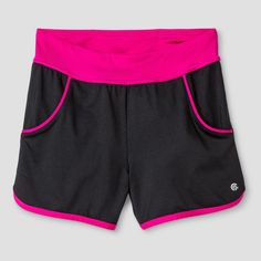 Girls' Knit Short with Pockets Ebony XL - C9 Champion, Girl's