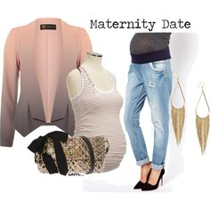 maternity night, created by sarrc on Polyvore