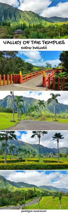 East Oahu, Windward Oahu, Hawaii: Byodo-In Temple and Valley of the Temples. Things to do in Oahu with nearby hike. Beaches and snorkeling not far from this Hawaiian culture activity in Kailua and Lanikai. A little bit away from Honolulu and Waikiki. Part of what to see in Hawaii on a budget with adventure for the best Hawaii vacation in the US! #hawaii #oahu