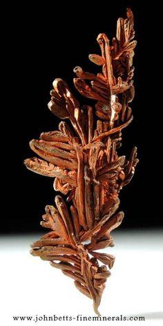 Native Copper --- Onganja Mine, Seeis, Khomas, Namibia