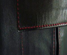The seam stitching color can dramatically enhance and change the character of a jacket, and is the perfect finish to a quality jacket. This customizable option is available on any of our luxurious range of jackets. After choosing your jacket,  go to the options to customize it! This is when you can choose your stitching! You can used the same color as your jacket, or choose something  more visible for dramatic effect.