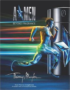 """Fashion ad for Thierry Mugler to be released in the Fall of 2011. Features Oscar Pistorious, a South African Sprinter and Model who runs on two high-tech J-shaped prosthetics made of carbon fiber.  """"It talks about not conforming to what are believed to be the limits of others, but striving to make the limits of your own."""" Bravo, Thierry Mugler."""