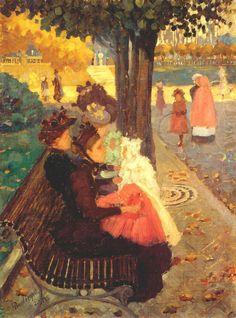 The Tuileries Gardens, Paris, Maurice, Prendergast