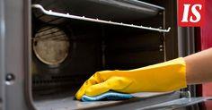 Nopea tapa pestä uuni - sitkeät rasvatahrat pois ilman jynssäämistä