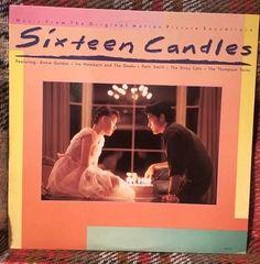 Sixteen Candles Soundtrack LP Vinyl Record Near by chezToulouse