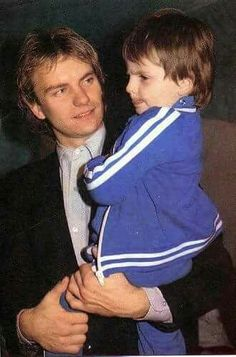 Sting and his son.