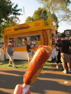 Pronto Pup beats Corn Dog anyday! MN State Fair.