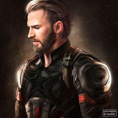 Steve in Infinity War (2017) Photoshop CS6