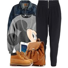 Mickey, created by oh-aurora on Polyvore