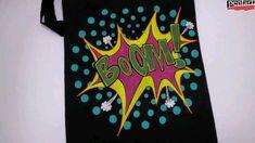 Der Herbst ist da 🤩🍂 Und was bedeutet das? Genau, Halloween ist auch nicht mehr weit! 🎃👻 Da haben wir natürlich wieder jede Menge Bastelideen für euch. Heute stellen wir euch unsere Leuchtfarben für Textilien vor. Die könnt ihr für schaurig schöne Designs zu Halloween verwenden, oder auch einfach so auf T-Shirts oder Taschen, um eure Freunde zu verblüffen 😜 Mens Tops, Shirts, Worth It, Simple, Glow Paint, Latest Technology, Vibrant Colors, Cute Ideas, Nice Designs