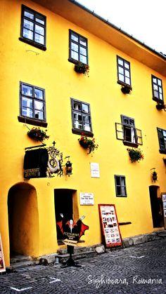 Sighisoara, Romania (2012)    Vlad Dracula's House - Brewery & Restaurant Brewery Restaurant, Opening A Restaurant, Homeland, Places To Go, History, Country, House, Travel, Beautiful