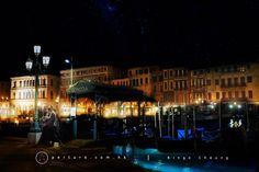 Romantic night, gondola ride(貢多拉), sailing ,stunning palaces, charming bridges, night sky, Ringo Cheung, Aperture Production, Wedding Photographer, Overseas pre-wedding