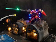 GUNDAM GUY: MG 1/100 Aegis Gundam - Diorama Build w/ LEDs