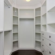 my dream closet....can't wait to design it. So many options