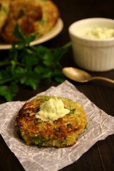 Patties on Pinterest | Cheesy Cauliflower Patties, Cauliflower Cheese ...