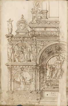 [Monument for Christian III and Queen Dorothea.]