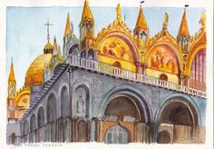 Paintings of Venice, Europe travel art