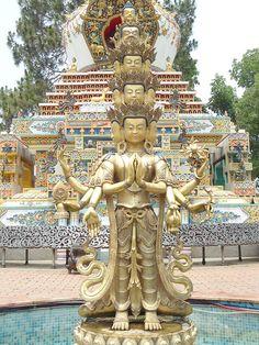 Kopan Gompa Stupa, Nepal