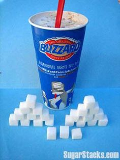 Dairy Queen Butterfinger Blizzard 16 oz medium Sugars, total: Calories, total: 740 Calories from sugar: 344 How Much Sugar, Dairy Queen, What You Eat, Girl Scouts, Truths, Smoothies, Infographic, Nutrition, Exercise