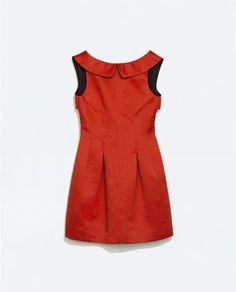 Image 7 of DRESS WITH FULL SKIRT from Zara