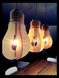 Een lamp in een lamp.