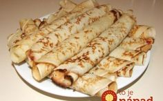 palacsinta (Hungarian Crepes) Just like the Croatian ones! Hungarian Desserts, Hungarian Cuisine, Hungarian Recipes, Hungarian Food, A Food, Good Food, Food And Drink, Croatian Recipes, Food Stall