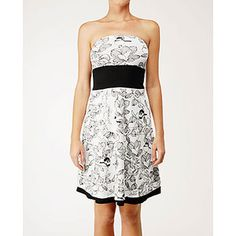 Beat The Heat Dress - black fatbird print <3