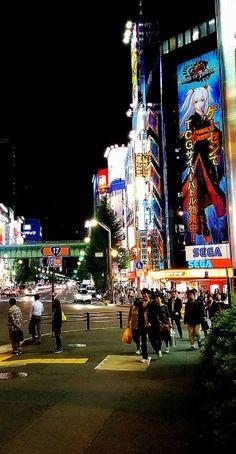 Straßenflucht von Akihabara #akihabara #maid #otaku #cosplay