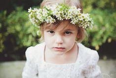 flowergirl with flower crown