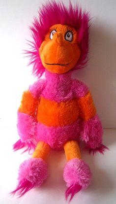 "Kohls Cares for Kids Dr Seuss Wocket Pink Orange Stuffed Plush Doll 18""  #Kohls"
