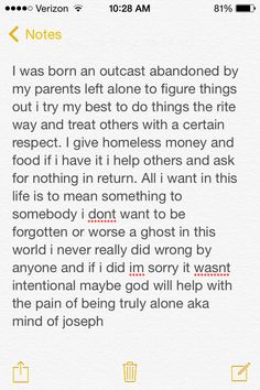 Still trying to stay positive but im honestly scared im going to go threw this life alone aka mind of joseph