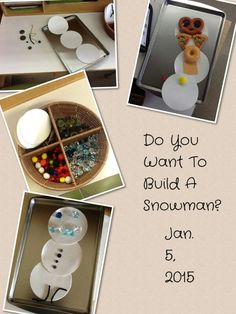 Do you want to build a snowman!