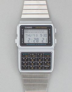 Man, I sure was the coolest wearing my Casio Databank watch.