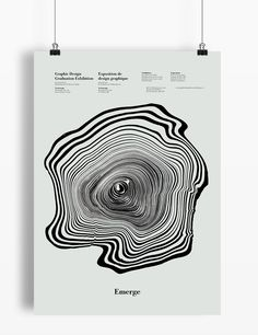 This poster was designed for the 2016 Graphic Design graduation exhibition. The…