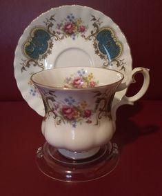 885f257e70 MINT Small Royal Albert Cup & Saucer Set. Teacup and saucer. Antique Tea  Cups