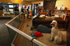 Elvis' upstairs office is part of a new exhibit titled, 'Elvis Through His Daughter's Eyes,' which opens at Graceland in Memphis, Tenn., Wednesday, Feb. 1, 2012.  (AP Photo/Lance Murphey)