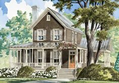 Turtle Lake Cottage - Moser Design Group   Southern Living House Plans
