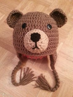 Crochet Brown Bear Hat by MadebyMagissa on Etsy, $30.00