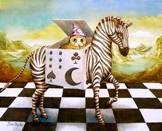 Moi zebre boite by  Agnes Boulloche