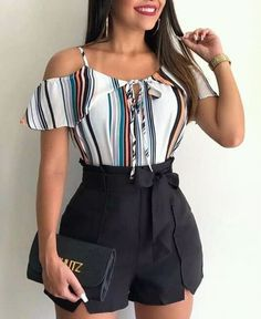 Dressy Outfits – Page 4764235270 – Lady Dress Designs Cute Casual Outfits, Short Outfits, Chic Outfits, Spring Outfits, Casual Wear, 50s Outfits, African Fashion, Cute Dresses, Ideias Fashion