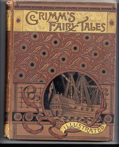 Grimm's Fairy Tales 1888 W/Grimm's Goblins Illustrated Antique Book
