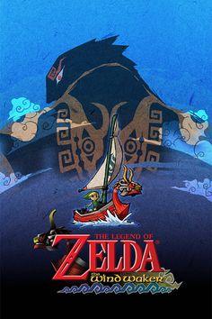Legend of Zelda The Wind Waker 24 x 36