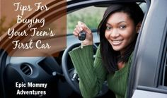 Tips for buying your teen's first car *To get the best deal on a new car, try Carjojo! We do your negotiation homework for you! www.carjojo.com