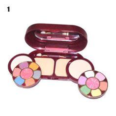 Make-up Set s1306 - 12 Farben Lidschatten + 2 + 2 Farben Rouge Farben Puder