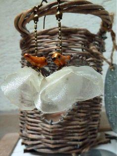 Elegoš birds by Martinuska - SAShE.sk - Handmade Náušnice